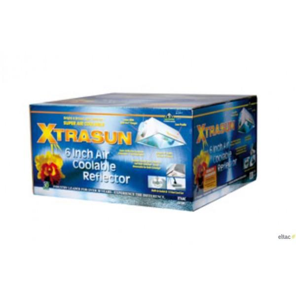 Reflector XtraSun AC 150mm Cool air para cultivo armario interior marihuana Reflector XtraSun refrigerado sistema cool-tube 1
