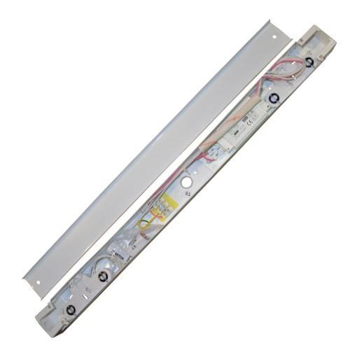 Regleta Industrial Tubos Fluorescentes 2x18w 1
