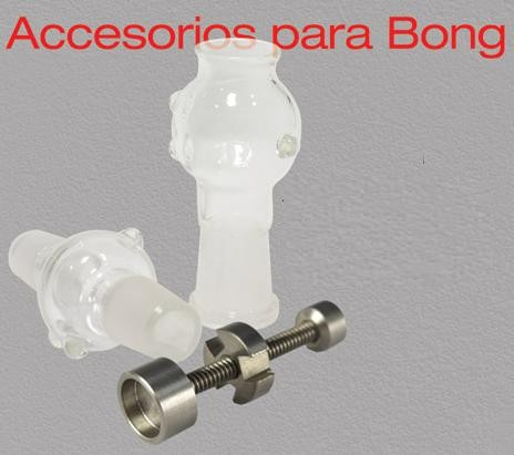 Set BHO para Bong 14mm (Tornillo Titanio + 2 cazoletas) 0