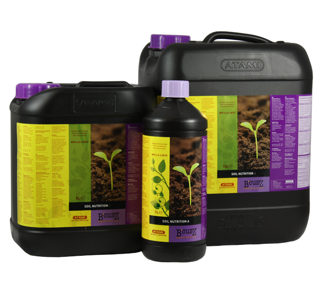 B' Cuzz soil Nutrition A+B (Atami) Abono para Cannabis 0