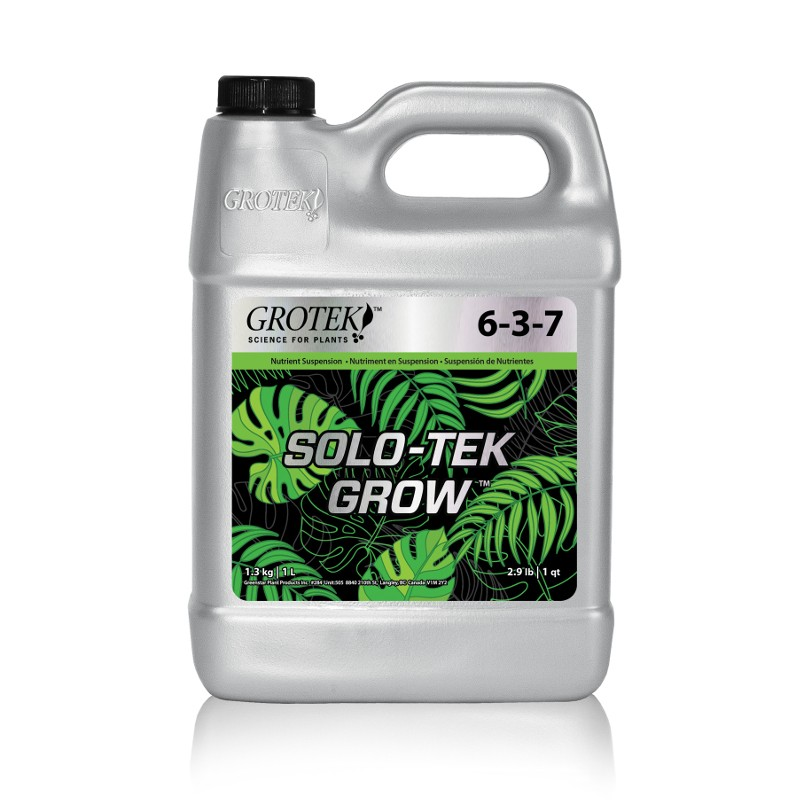 SOLO-TEK GROW (GROTEK) CRECIMIENTO. 1