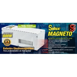 KIT 600 w SOLUX MAGNETO HORTILIGHT VANGUARD PLUG and PLAY 0