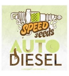 Auto Diesel 60 unds (Speed Seeds) Semilla Autofloreciente Feminizada Cannabis, 0