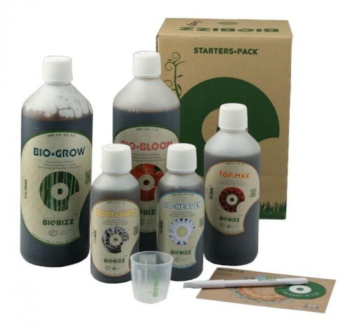 Starter Pack Ecológico BioBizz  0