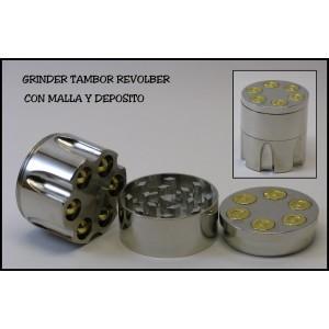 Grinder Tambor Revolver Tamiz 0