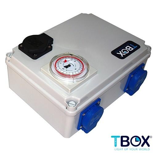 TEMPORIZADOR 4x600W + CALEFACCION TEMPO BOX 0