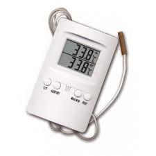Termómetro Higrómetro Digital Máx/Mín. Sonda (Cornwall) para medir temperatura y humedad en el cultivo interior de cannabis 0