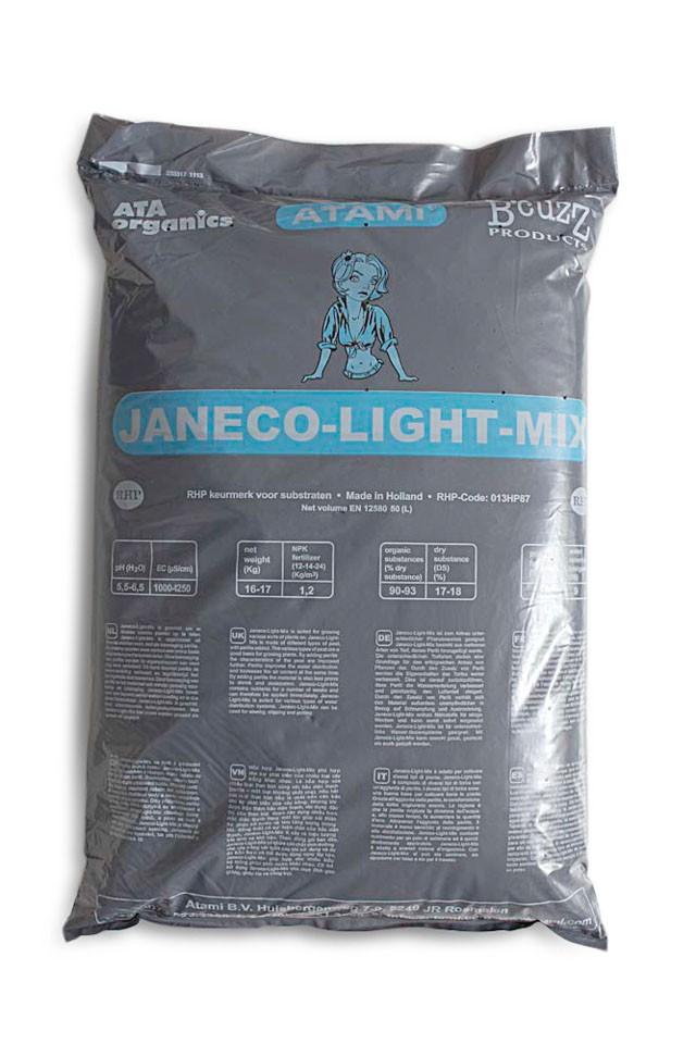 Tierra-Sustrato Janeco Light Mix Ligera  0