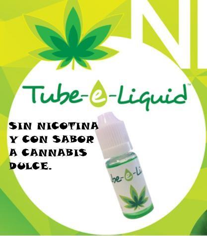 Esencia Tube-e Liquid 10 ml sabor Marihuana E-Liguid para tu cigarro electrónico 0