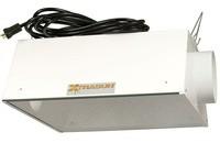 Reflector XtraSun AC 150mm Cool air para cultivo armario interior marihuana Reflector XtraSun refrigerado sistema cool-tube 0