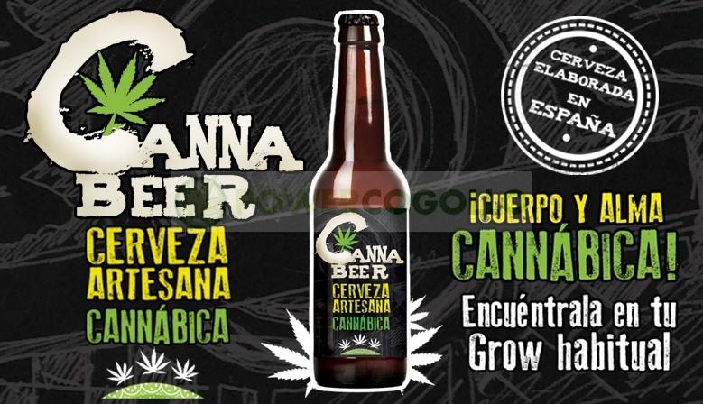 CannaBeer Cerveza Artesana Cannabica Hecha con semillas de Cáñamo 1