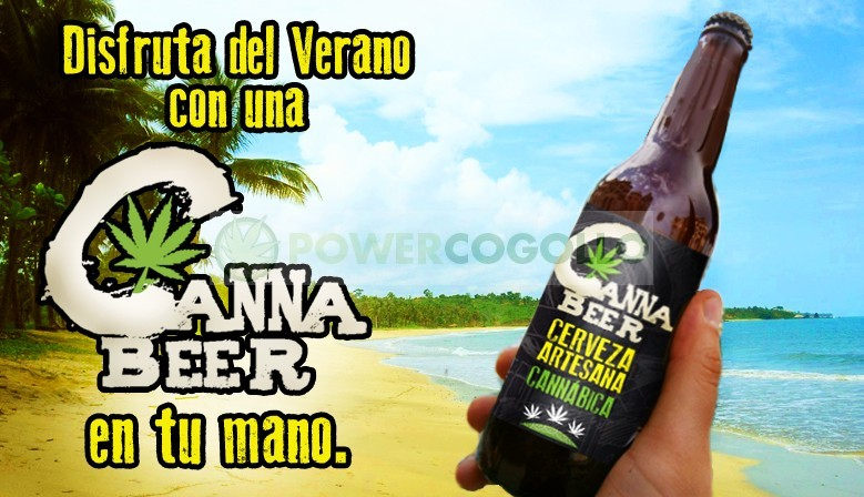 CannaBeer Cerveza Artesana Cannabica Hecha con semillas de Cáñamo 0