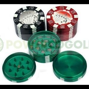 Grinder Tamiz Ficha Poker 0