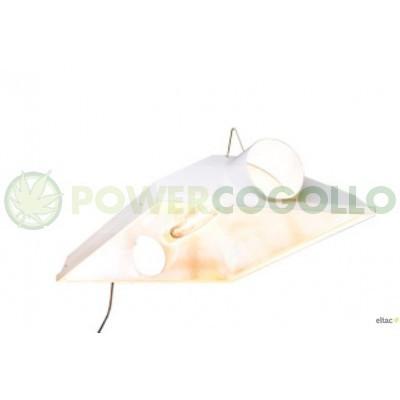 """Reflector Raptor 8"""" 200 mm AC Reflector Dual, con dos casquillos para 2 lámparas. 1"""