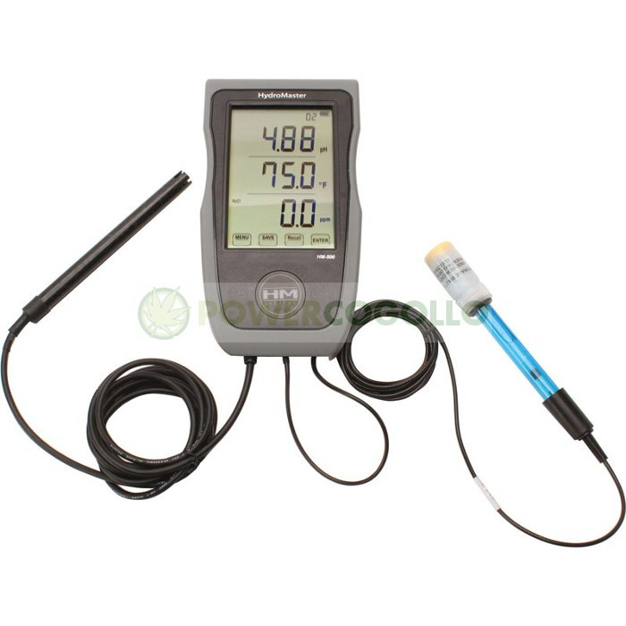 HYDROMASTER HM-500 (ºC/ºF,PH,EC,TDS) 0