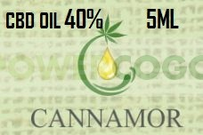 ACEITE DE CBD 40% CANNAMOR (5ML) 0