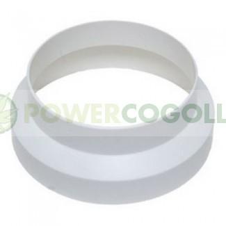 Acople Reducción Plástico para extracción del cultivo interior 0