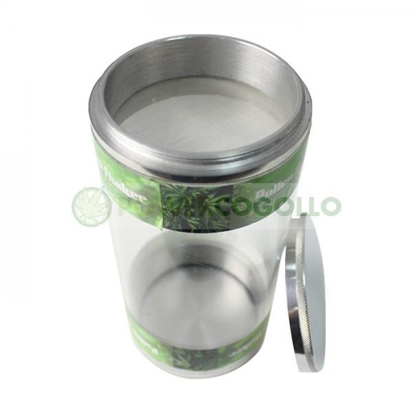 Polen Shaker Aluminio Transparente (Extracción en Seco 100 micras) 1