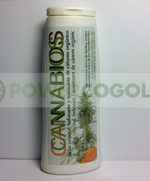 annabios Balsamo Body Milk 250ml con marihuana 0