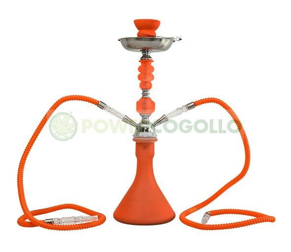 Arguila-Cachimba SHABI SHISHA Fluor 48 cm 2 SALIDAS-naranja 1