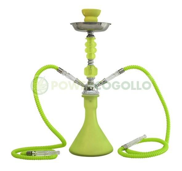 Arguila-Cachimba SHABI SHISHA Fluor 48 cm 2 SALIDAS-verde 0
