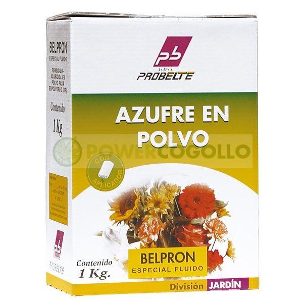 Azufre en Polvo 500g Belpron antioidio y acaricida 0