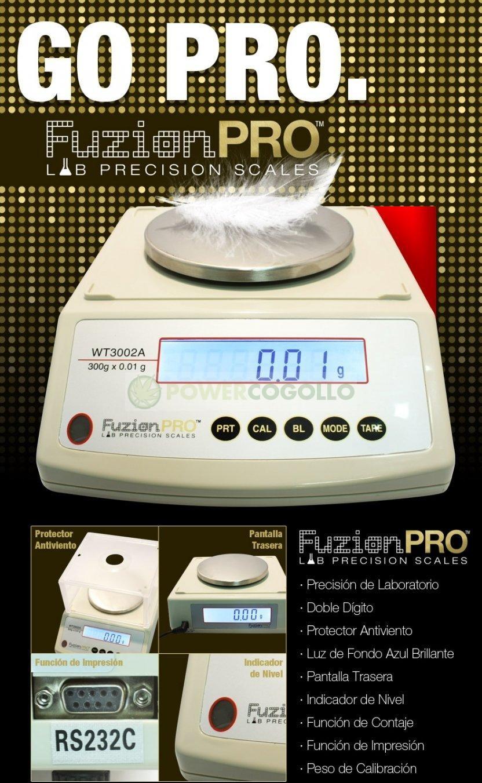 Báscula Digital Precisión Go Pro 300/0,01gr 0