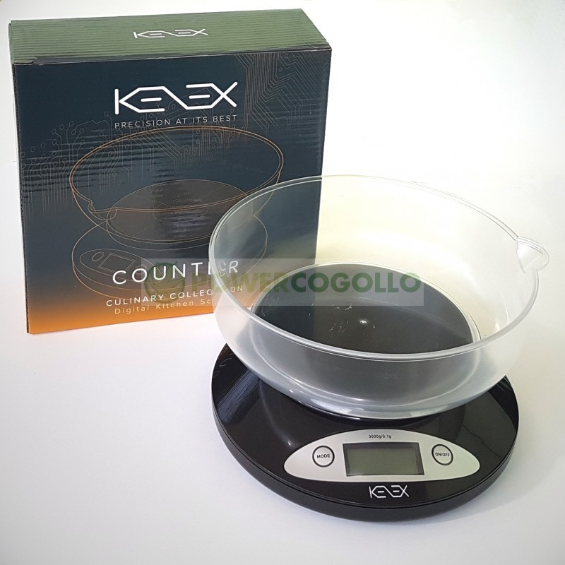 Báscula Precisión Kenex 3000/ 0,1gr 1