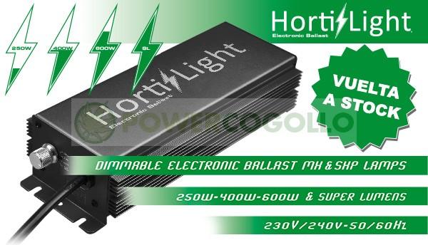 BALASTO ELECTRONICO DIGITAL 600 W HORTILIGHT DIMMER 0