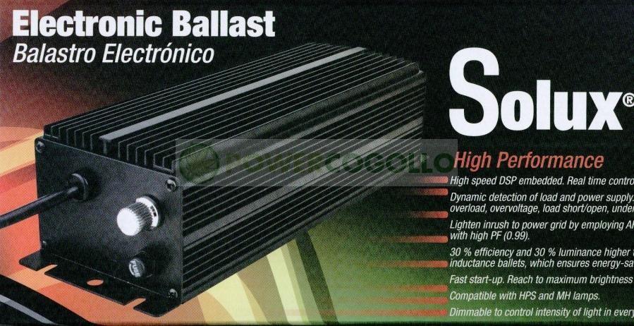 Balasto Electrónico Solux 400 W Regulable 1