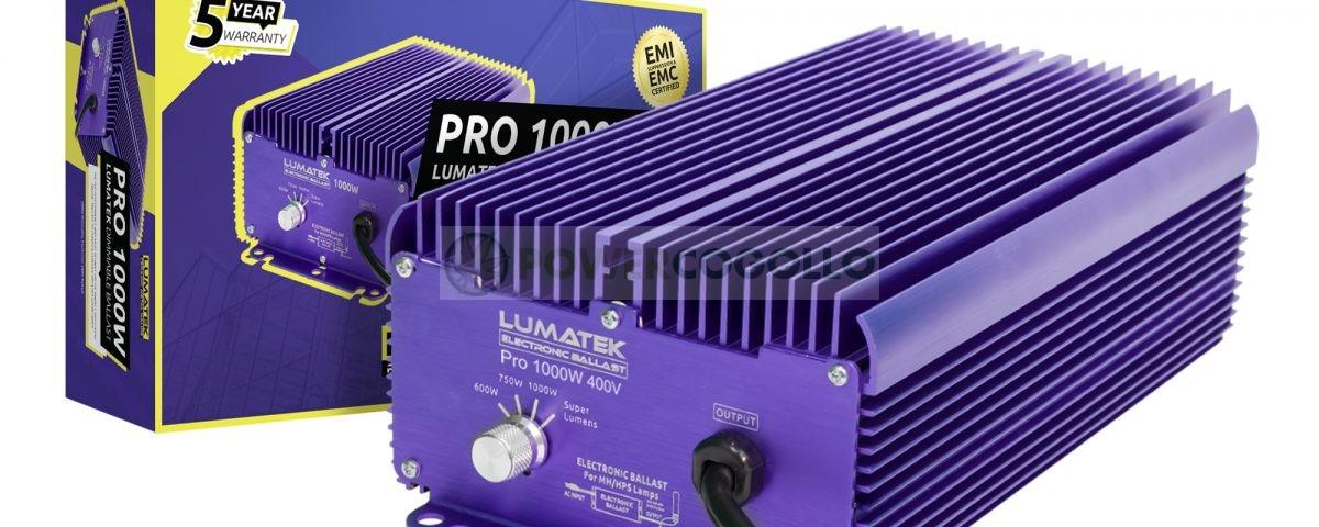 BALASTRO ELECTRONICO 1000W 400V PRO LUMATEK 0