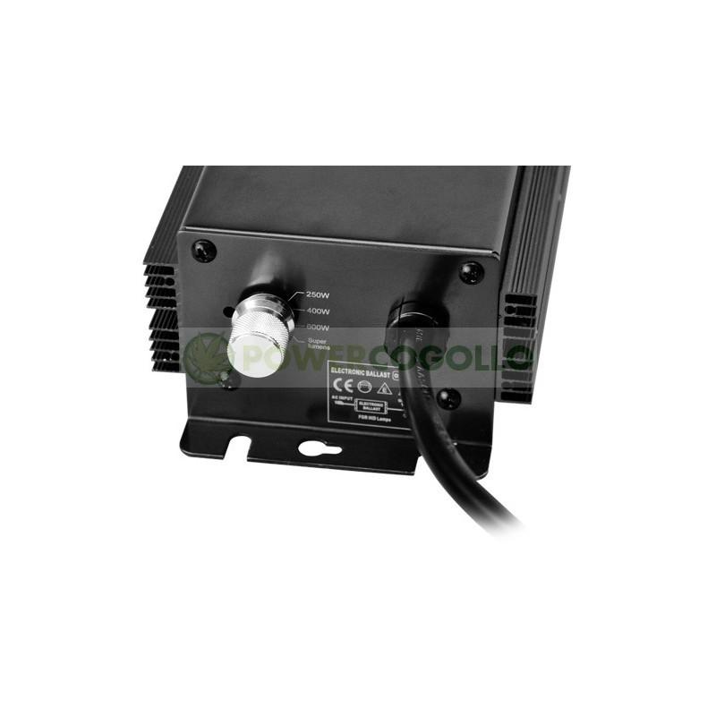 BALASTO ELECTRONICO DIGITAL 600 W HORTILIGHT DIMMER 1