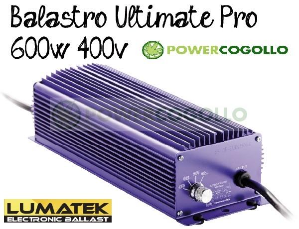 Balastro 600W 400v Lumatek Ultimate Pro 0