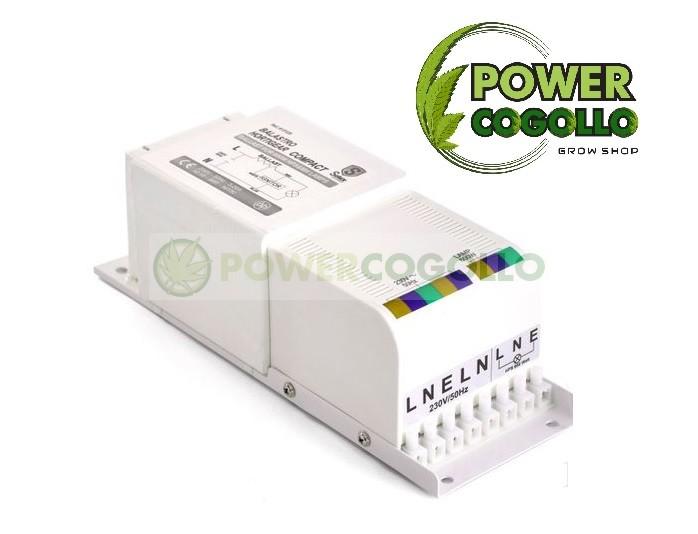 BALASTRO ELECTROMAGNÉTICO COMPACT SOLUX-600w 1