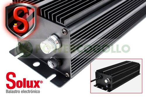 Balasto Electrónico Solux 250 W con potencia Regulable Para el cultivo interior 0