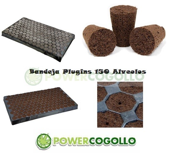 Bandeja Plugins 150 Alveolos  0