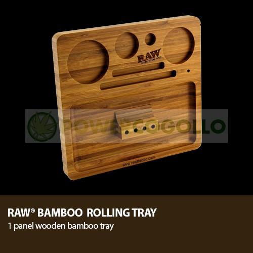 Bandeja RAW Bamboo Rolling Tray 3