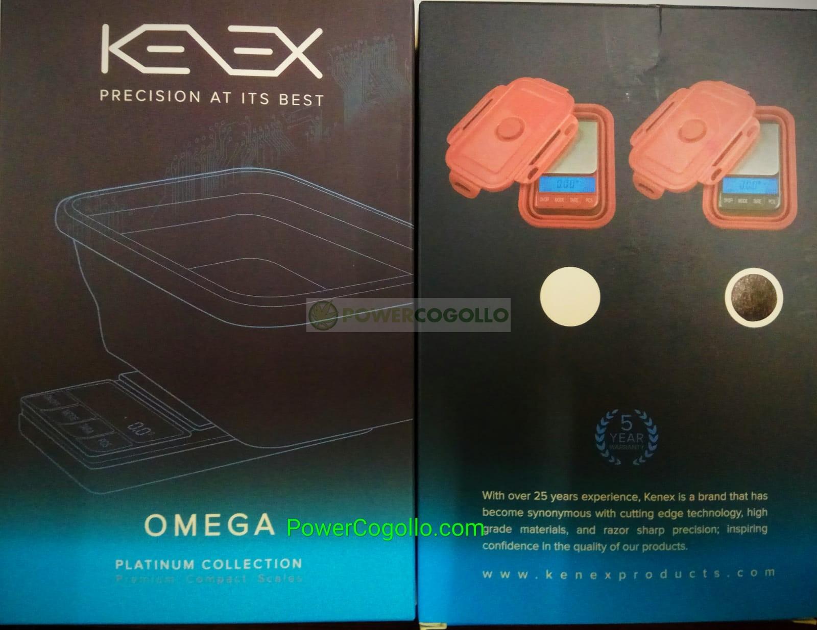 Báscula Digital Precisión Kenex Omega 0