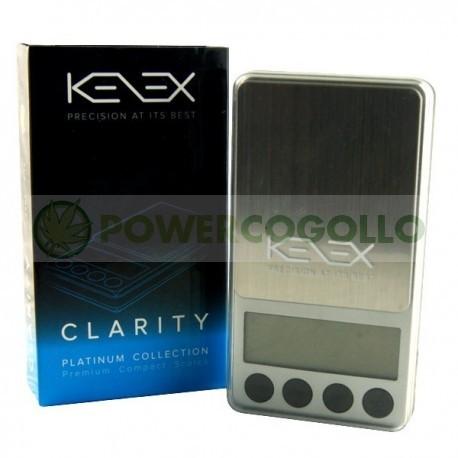 Báscula Digital Kenex Clarity 650 gr / 0,1gr 0