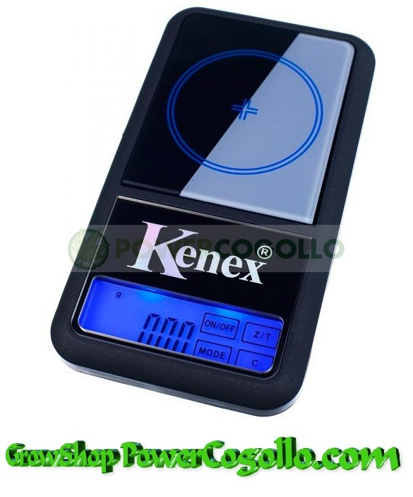 Báscula Digital Kenex Glass 100 gr / 0,01gr 0