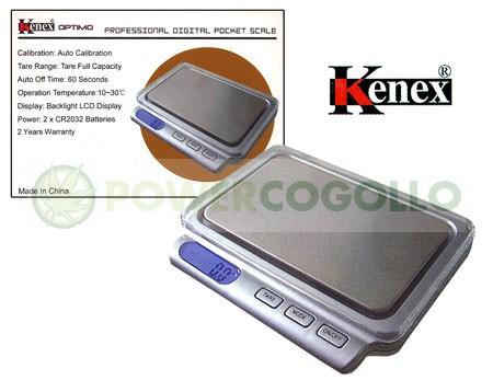 Báscula Digital Kenex Optimo 400 gr / 0,1gr de gran Precisión 0