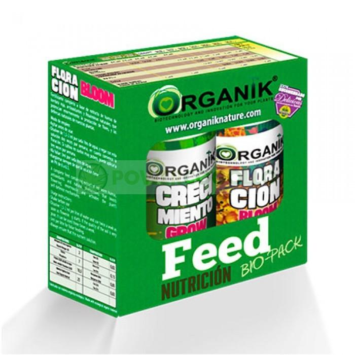 Bio-Pack 100% Nautral de Organik Nautre contiene fertilizante de crecimiento y floración 0