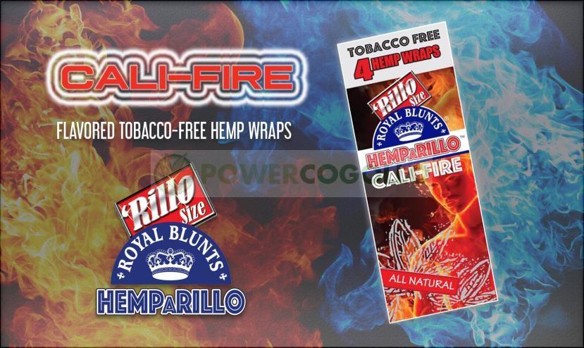 BLUNT DE CAÑAMO HEMPaRILLO (ROYAL BLUNT) 4 HOJAS-CALI-FIRE 6
