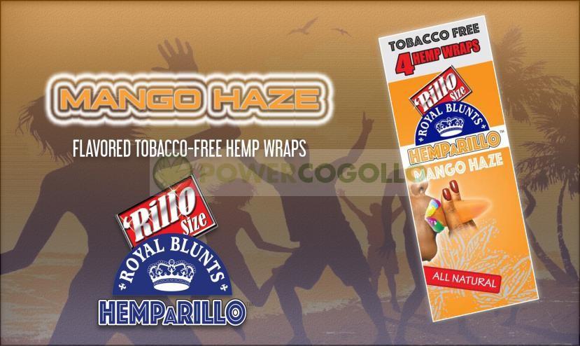 BLUNT DE CAÑAMO HEMPaRILLO (ROYAL BLUNT) 4 HOJAS-MANGO-HAZE 4