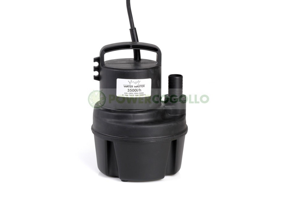 Bomba Gran Caudal Water Master3500 litros hora 0