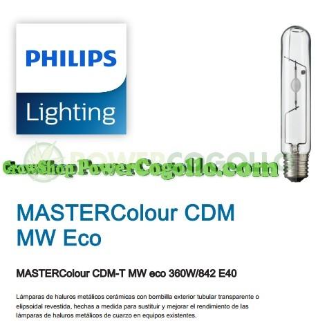 Bombilla para Cultivo Philips Mastercolour CDM-T MW eco 360w E40 1