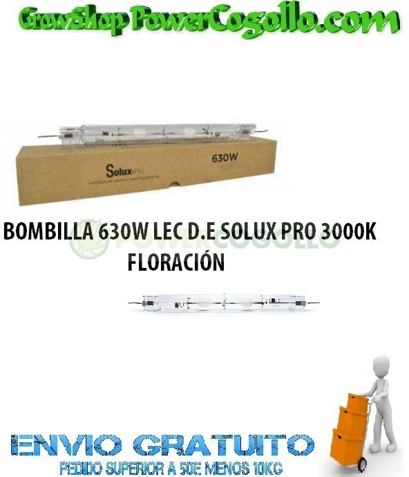 BOMBILLA 630W LEC D.E SOLUX PRO 3000K 0