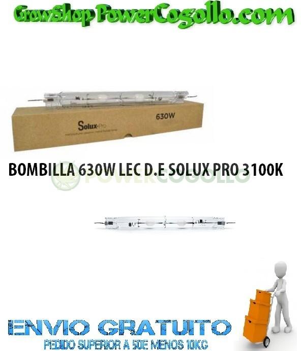 BOMBILLA 630W LEC D.E SOLUX PRO 3100K 0