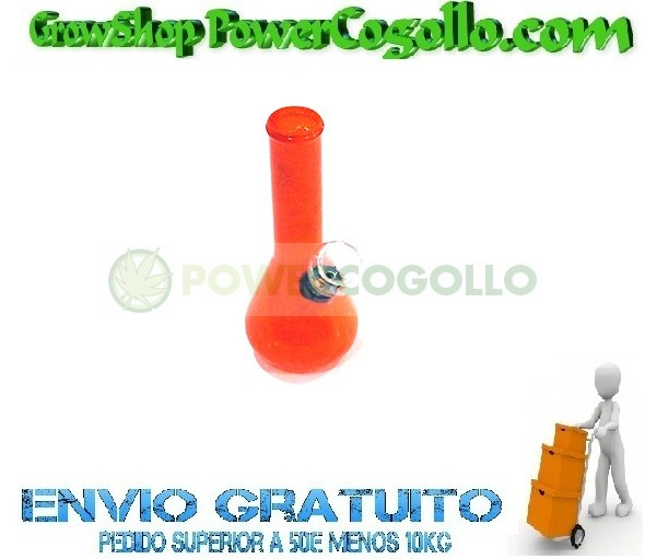 BONG CRISTAL COLORES 15cm BARATO 2