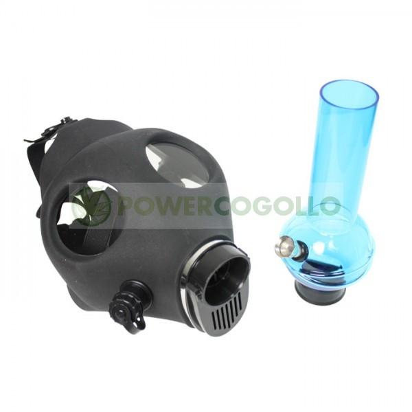 Bong Máscara de Gas Negra 0